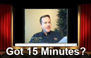 Got 15 minutes? Click here for Video Tip!