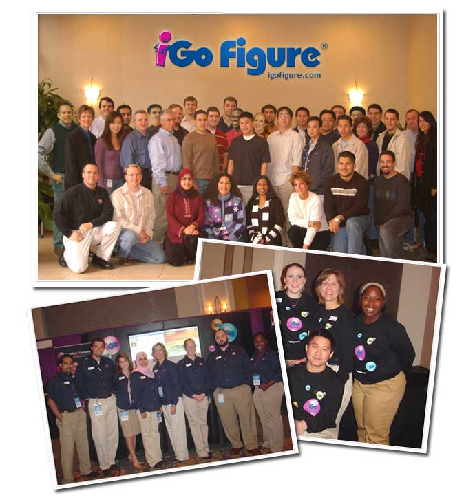 The Go Figure team